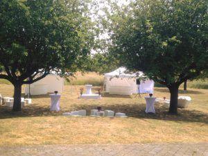 Location de tentes pour garden party
