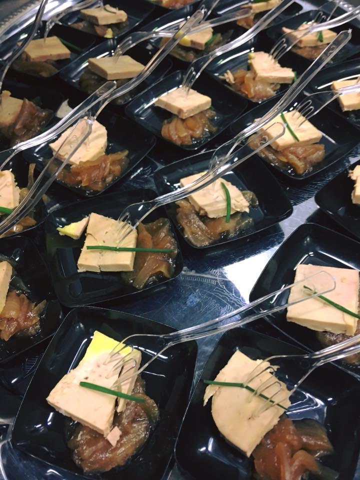 Cocktail dinatoire : foie gras