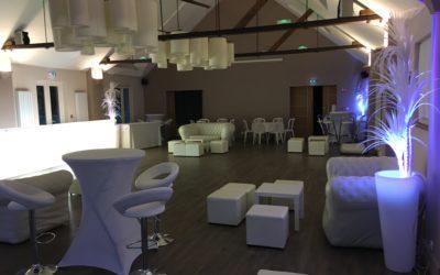 Notre concept Cocktail dînatoire et matériels de réception pour un mariage